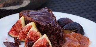 Čokolada i smokve kolač